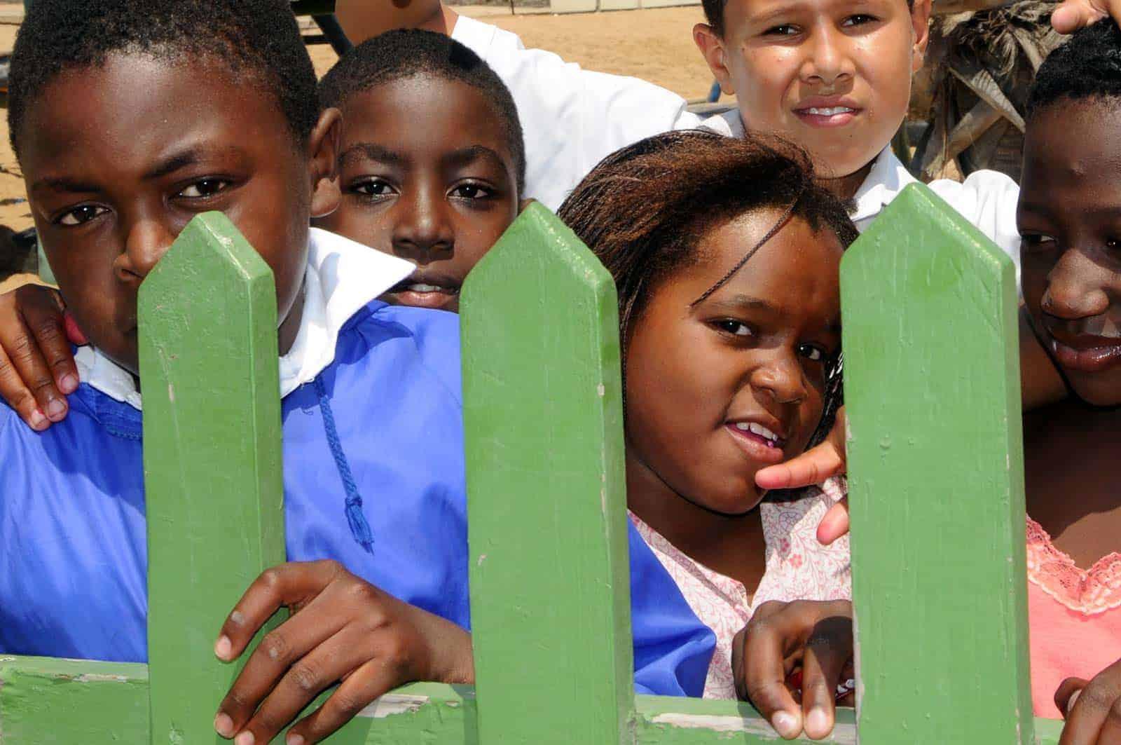 Crianças em Swakopmund