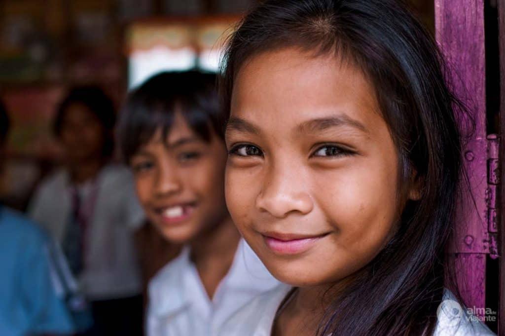 Fotografar pessoas: crianças nas Filipinas