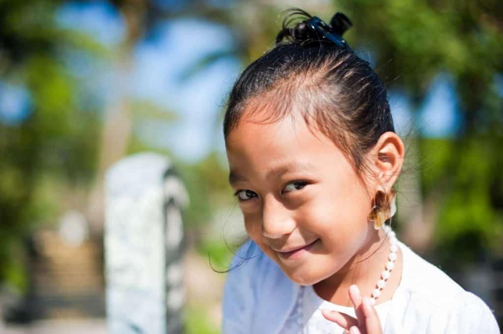 Crianças Rarotonga