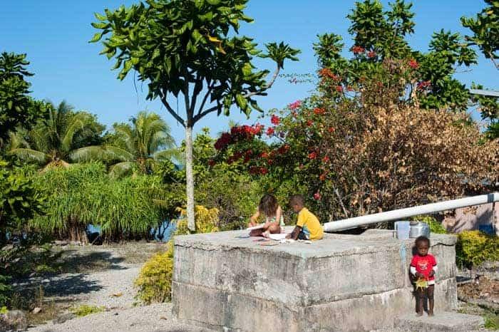 Crianças em Vanuatu