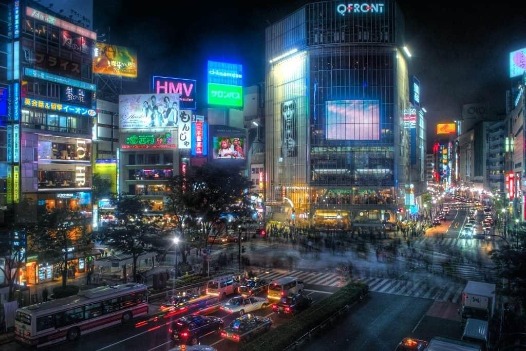 Cruzamento de Shibuya, Tóquio