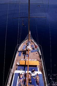 Cruzeiro Azul, a partir de Fethiye, no Mediterrâneo
