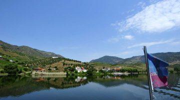 Typická vinohradnícka krajina Douro
