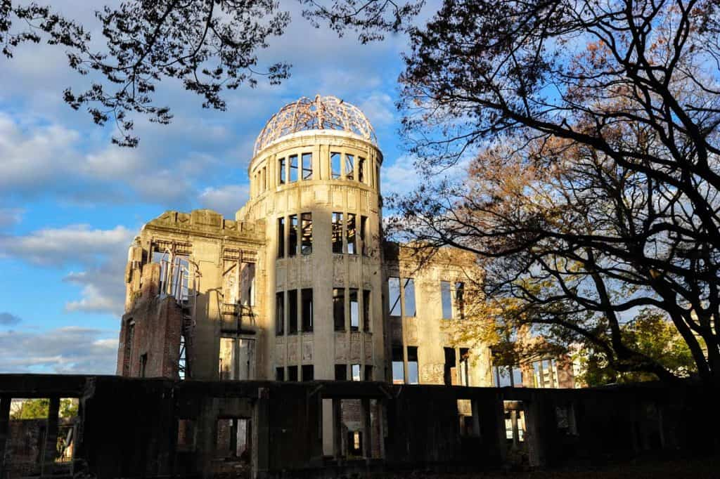 Memorial da Paz de Hiroshima Cúpula Genbaku)