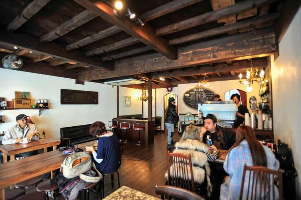 Curio Espresso and Vintage Design Kanazawa