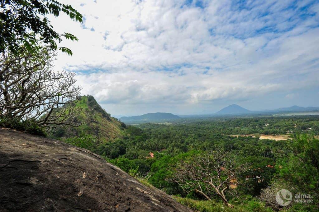Vistas a partir de Dambulla