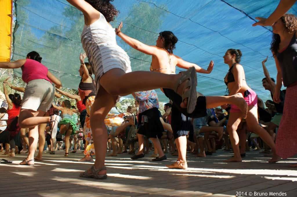 Workshops de danças, Andanças