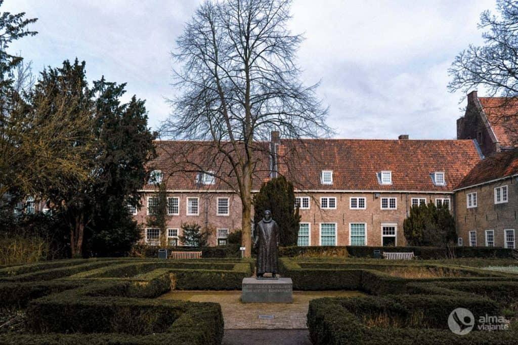 O que fazer em Delft: visitar Museu Prinsenhof