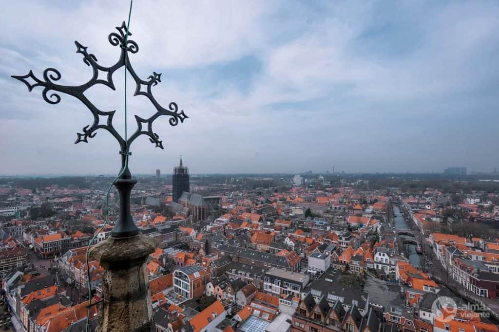 O que fazer em Delft: subir à torre da Velha Igreja
