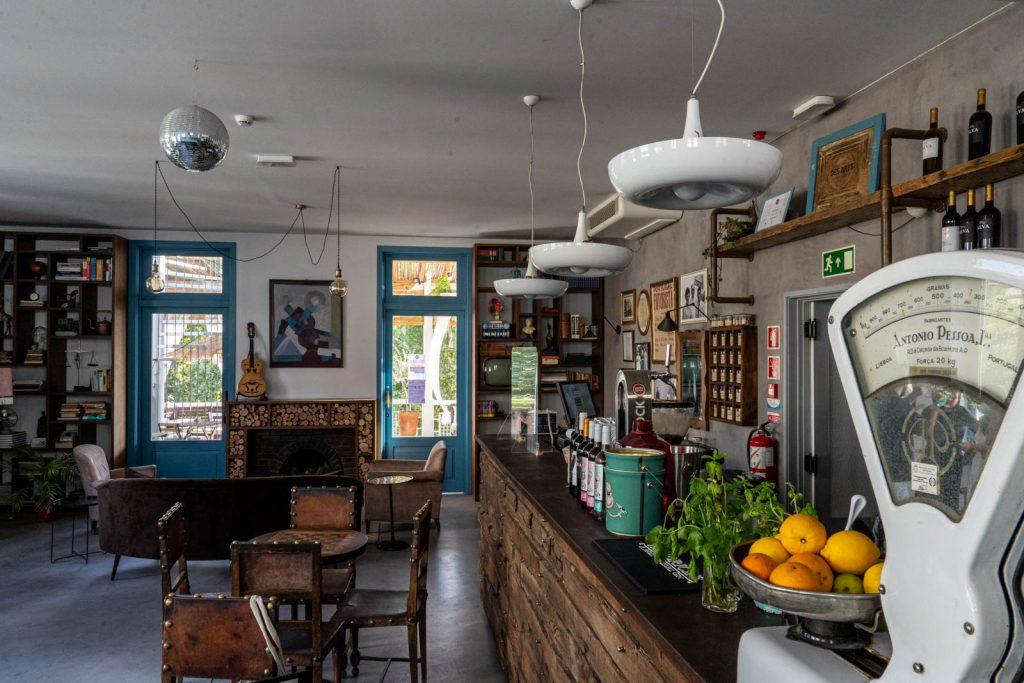 Bar do Des Arts Hostel, Amarante
