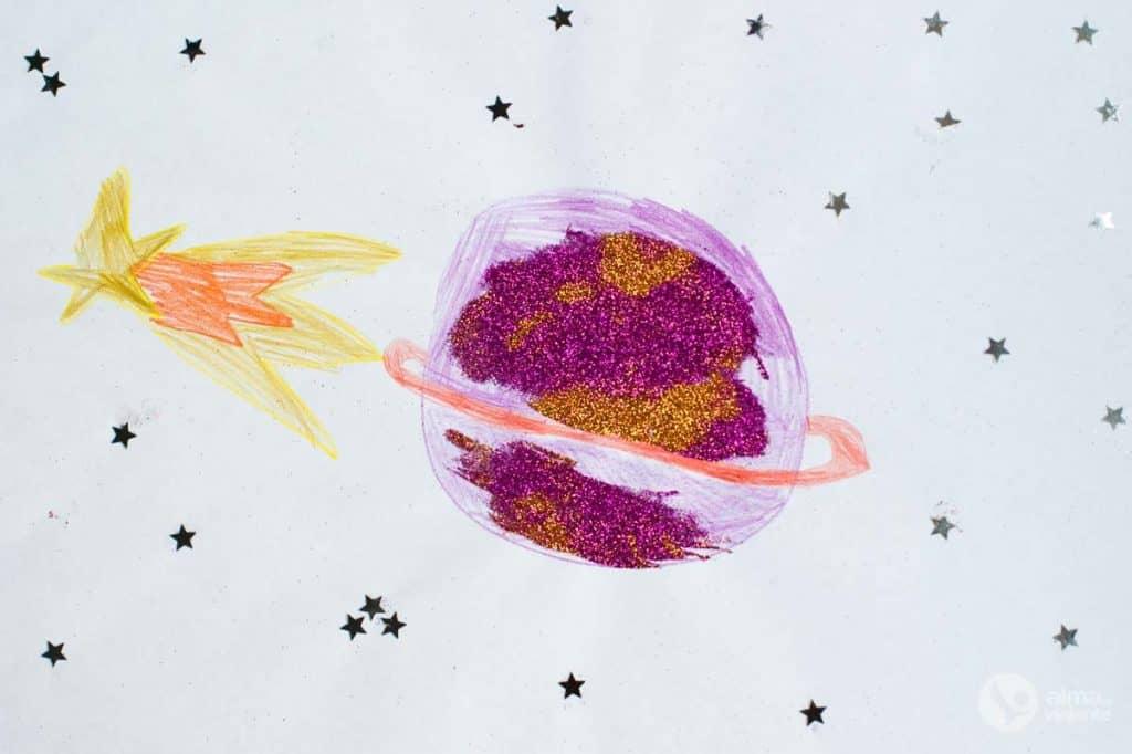 Desenho Saturno