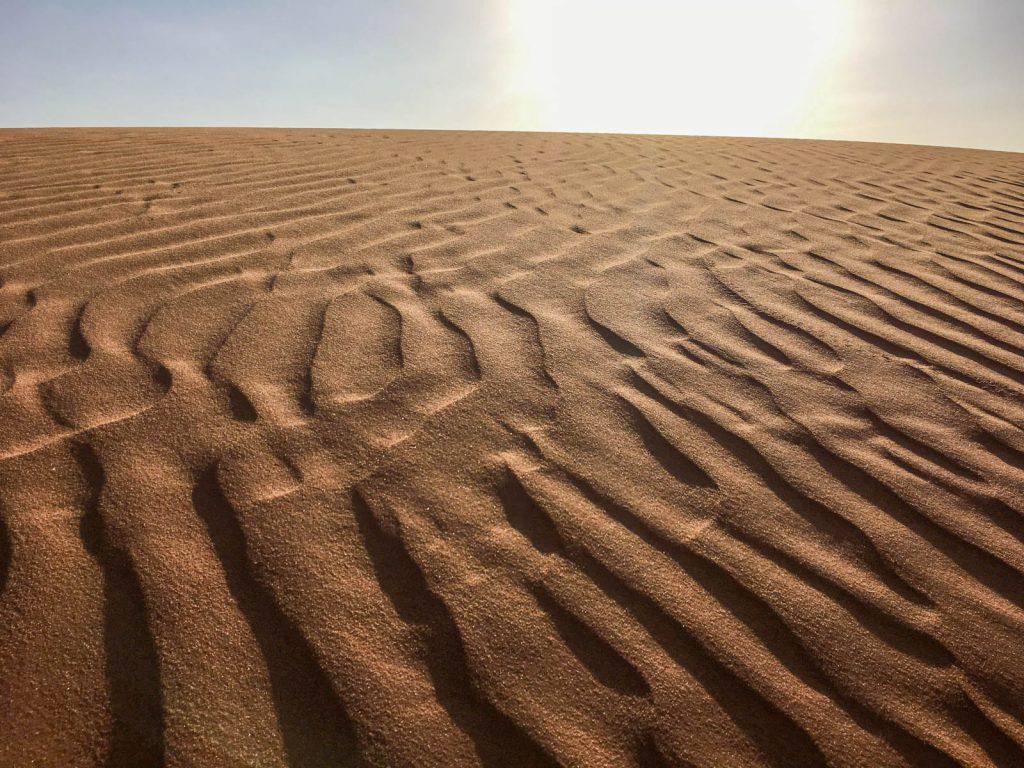 Deserto perto de Riade, Arábia Saudita