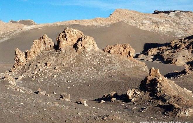 Pedalar no deserto de Atacama