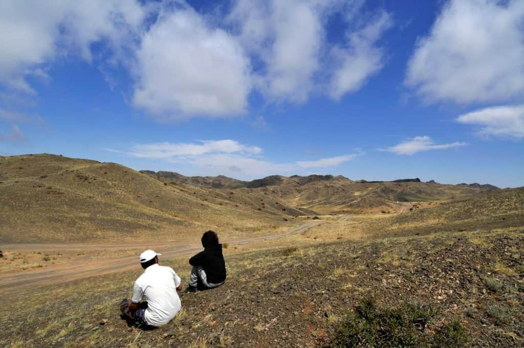 A caminho do deserto de Gobi