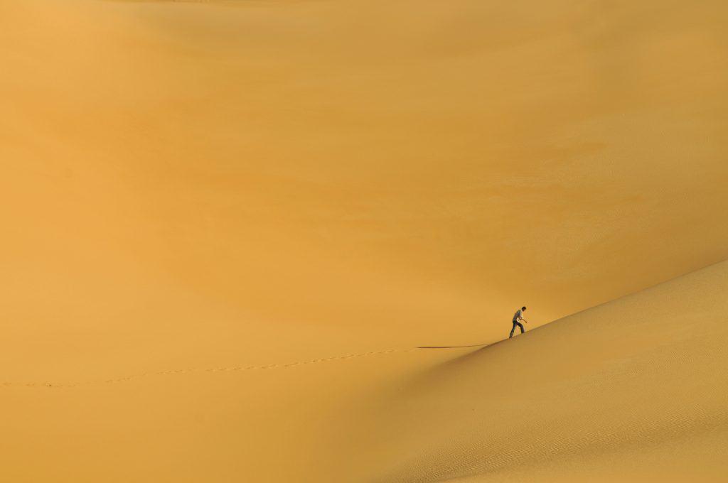 Primeira grande viagem - Deserto do Sahara