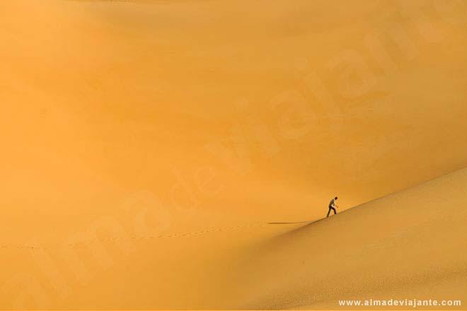 Dunas de Ubari, deserto do Sahara