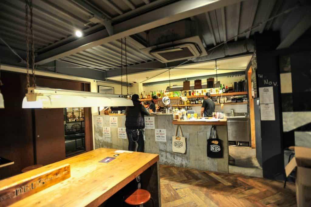 Café Deus Ex Machina, Tókýó