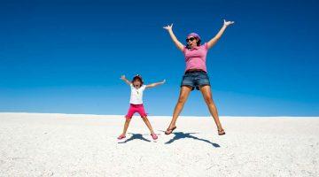 Dia da Criança: shell beach