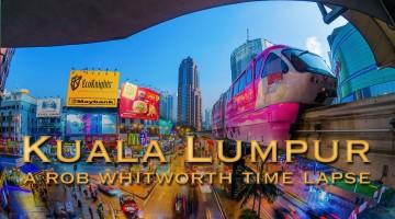 Dia e noite em Kuala Lumpur
