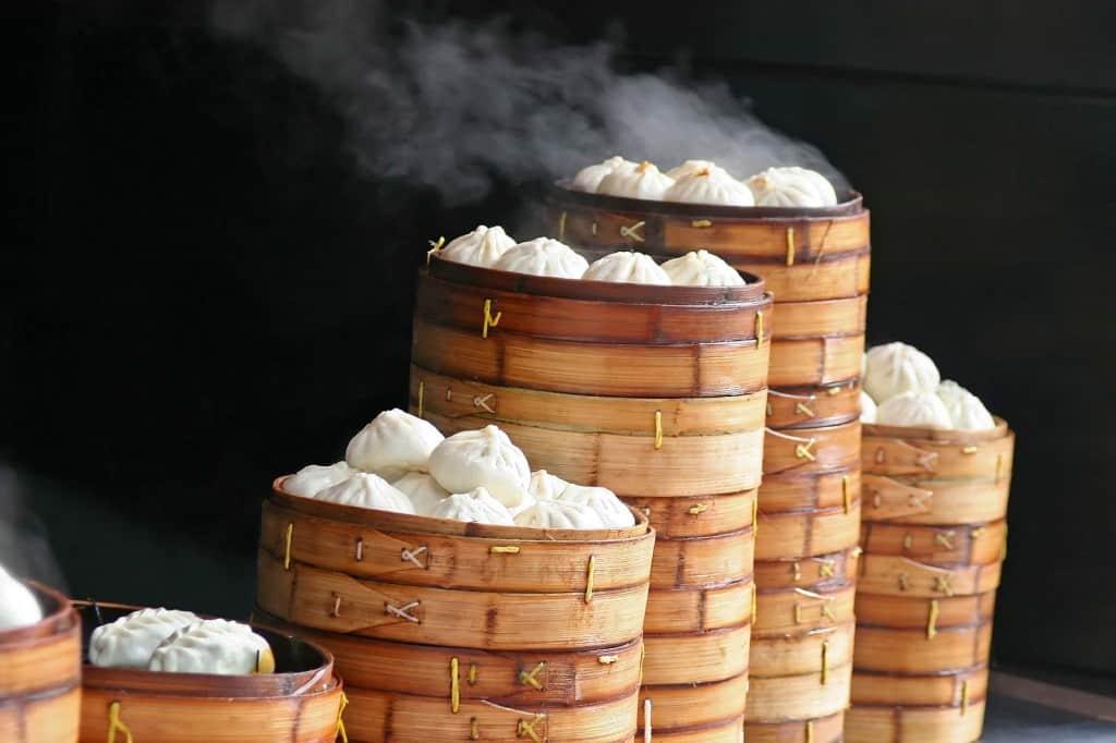 Dim sum, dumplings chineses