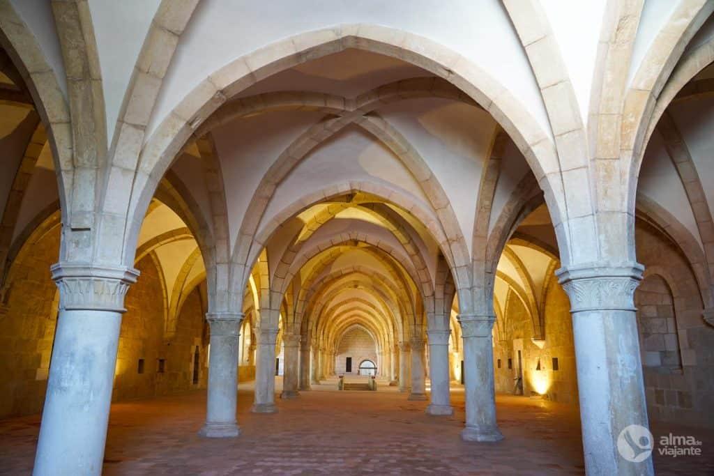 Dormitório do Mosteiro de Alcobaça