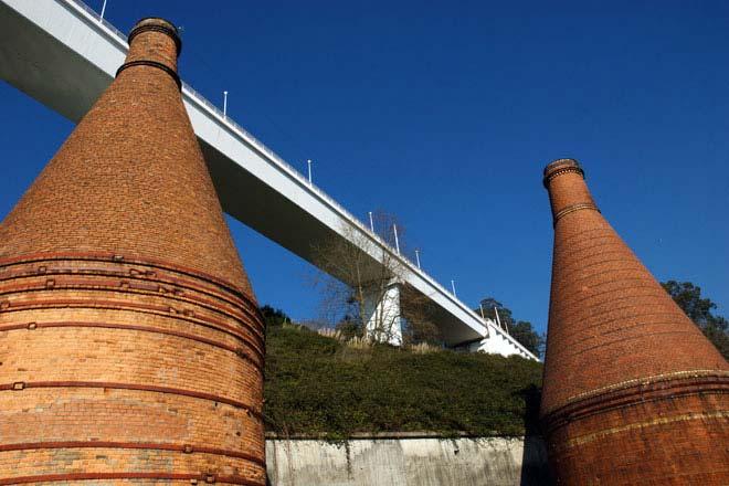 Arrādas tilts, kas savieno ostu ar Gaiju