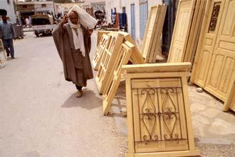 Rua de Douz, Tunísia