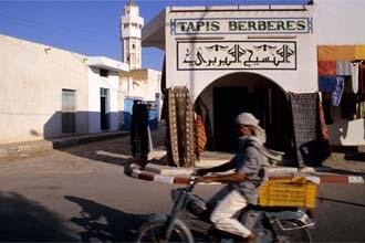 Ruas de Douz, Tunísia