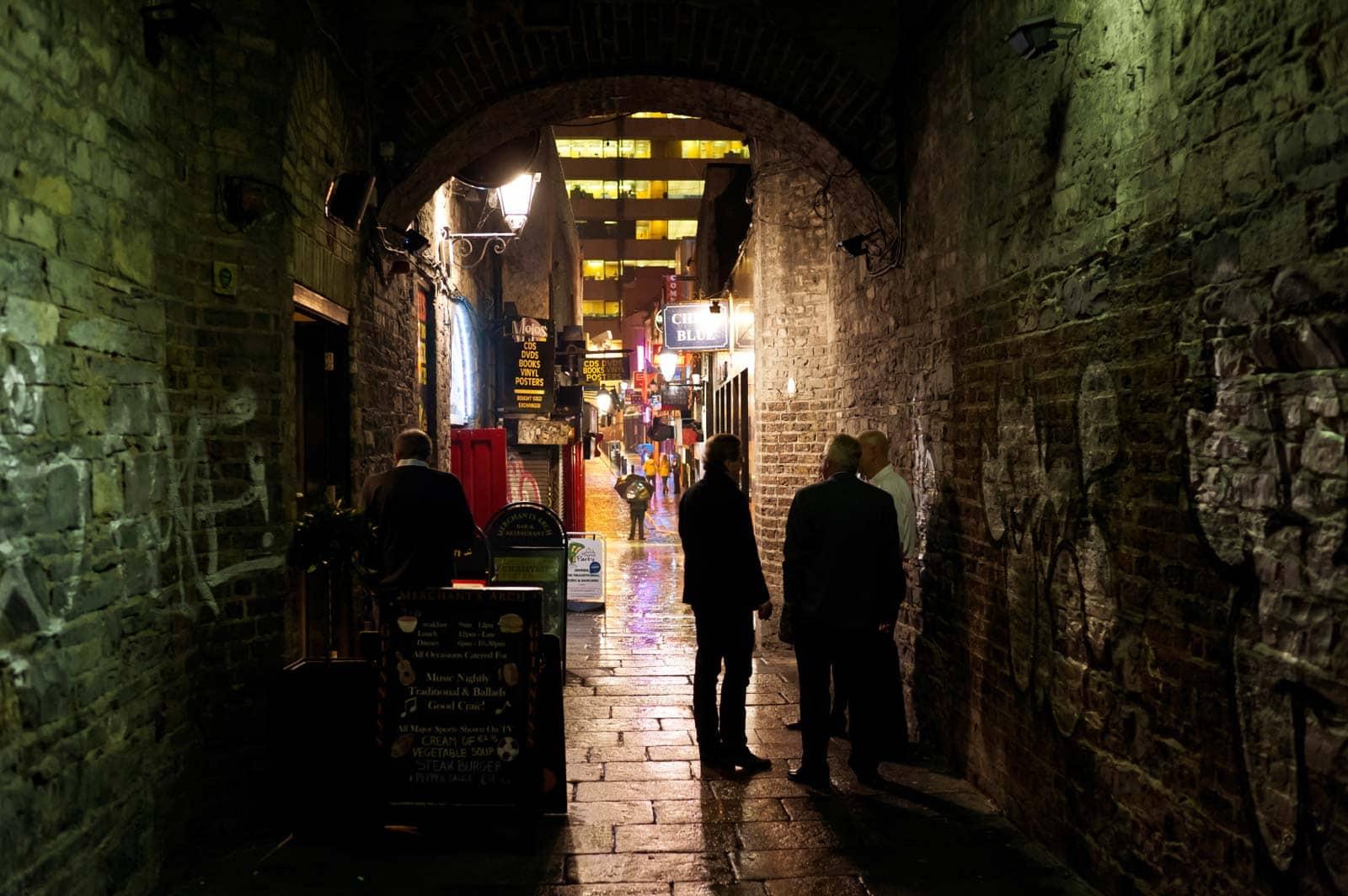 Merchants arch, Dublin