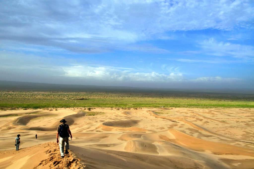 Deserto de Gobi: dunas de Khongoryn
