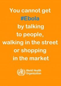 Poster Virus Ébola