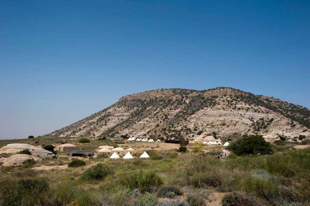 Tendas para alojamento turístico