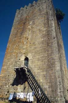 Torre de menagem de Lapela, Portugal