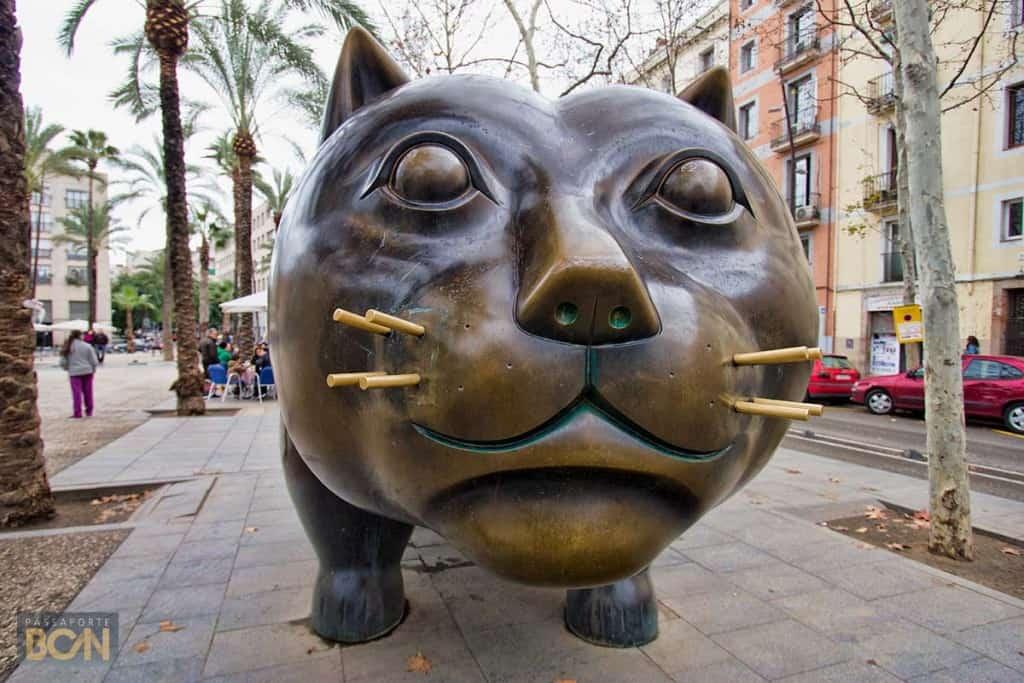 Barselonos Botero katė