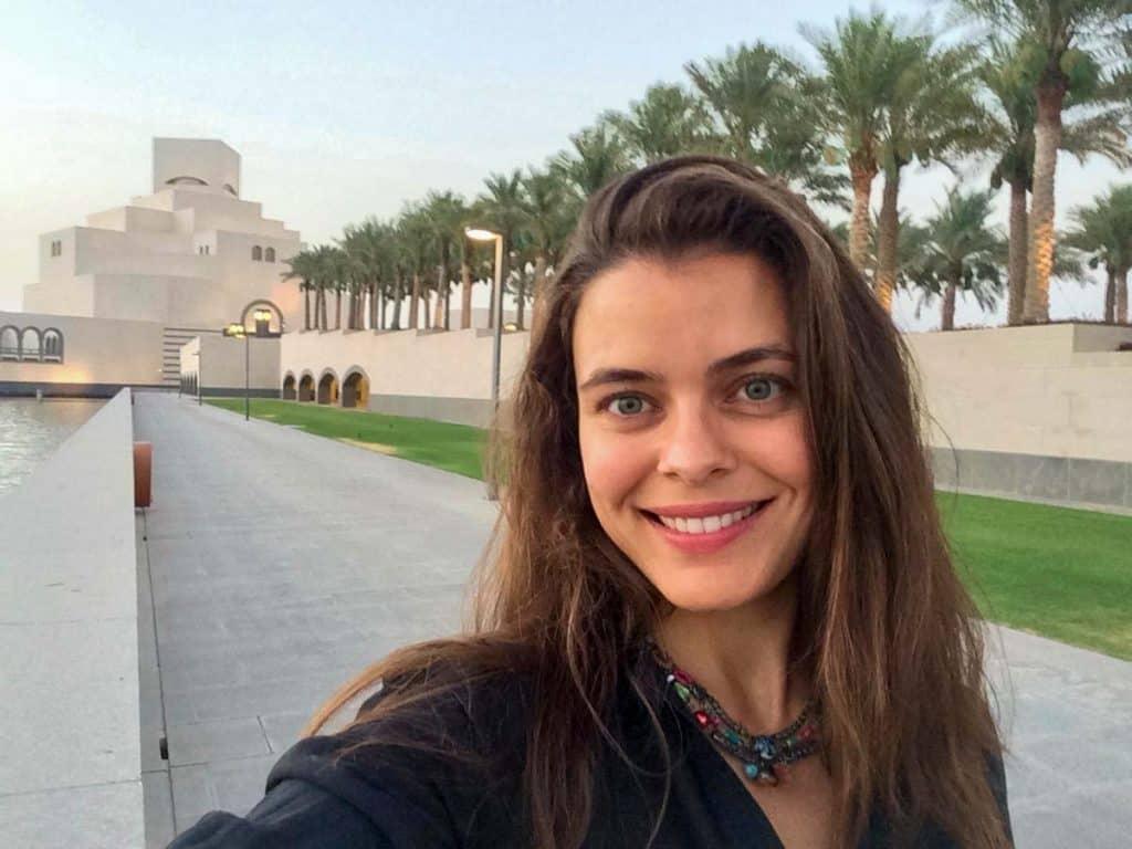 Elizabeth Braga em Doha