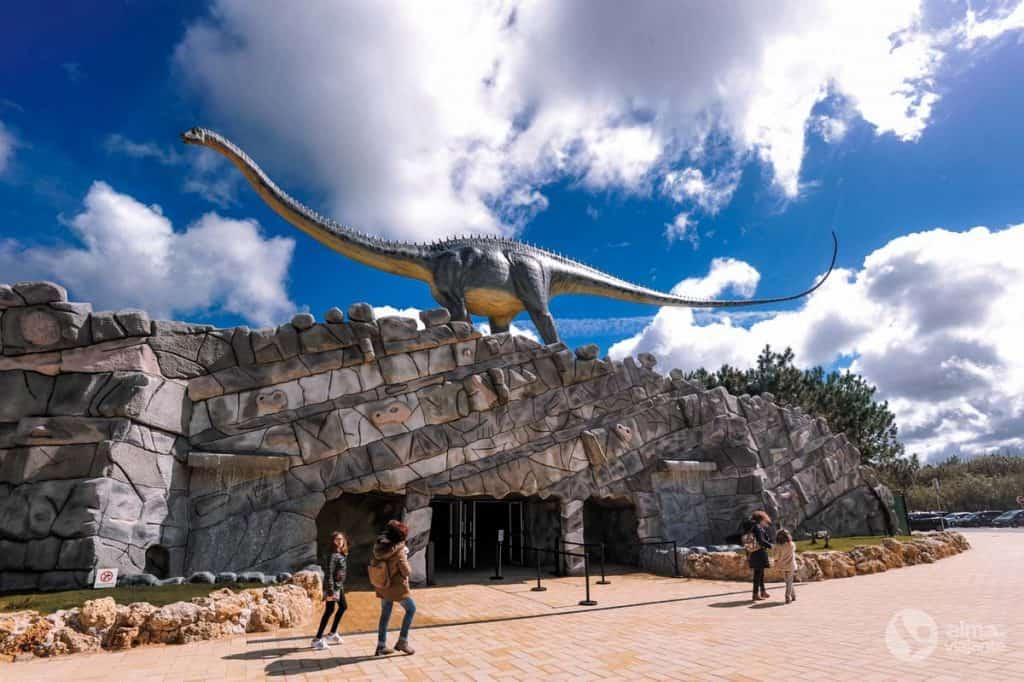 Entrada do Dino Parque Lourinhã