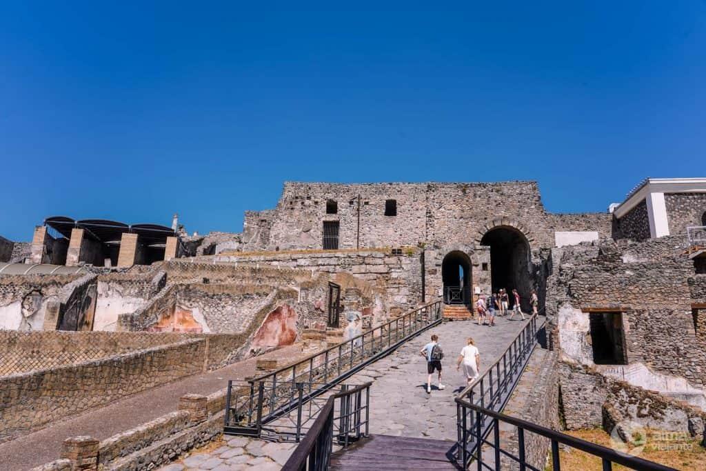 Via Marina, Pompeia