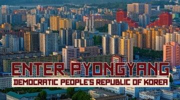 Entrar em Pyongyang