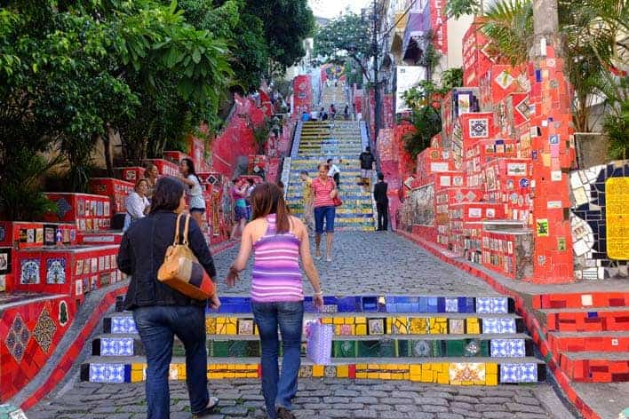 """""""Selarón Rio de Janeiro"""" laiptai"""
