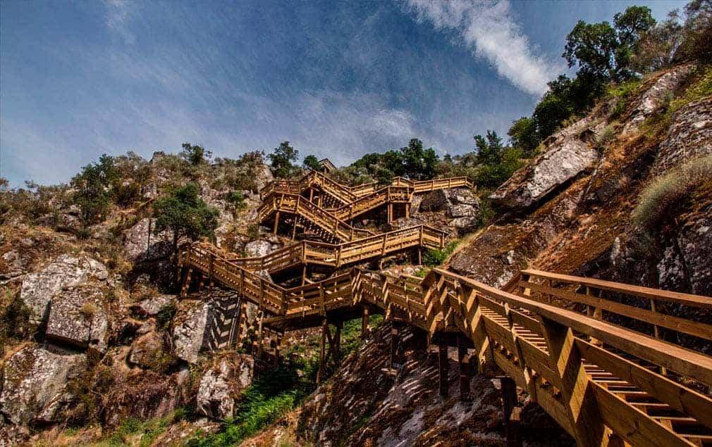 Areinho 근처 계단