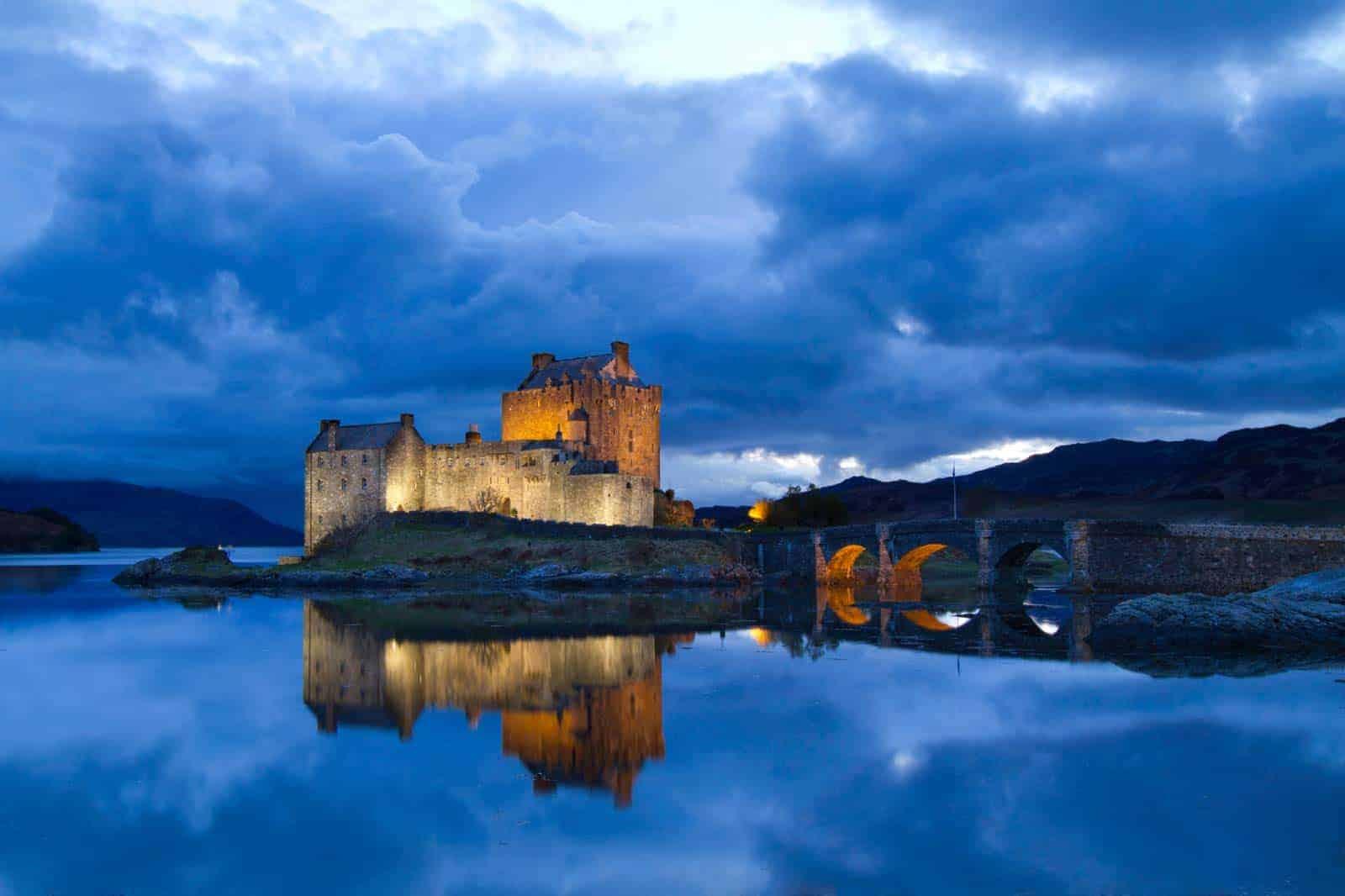 Dvorac Eilean Donan, Škotska