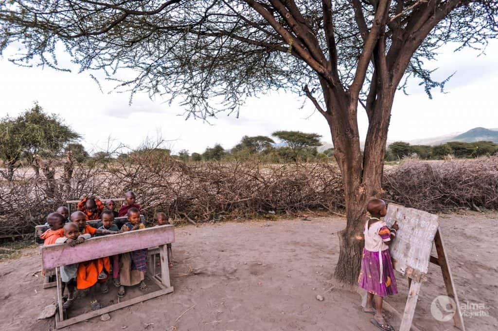 Visiteu el poble maasai