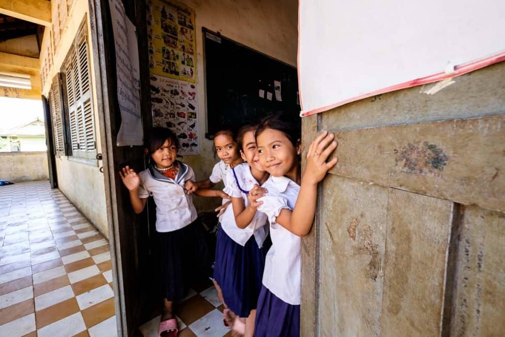 Escola em Battambang