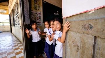 As escolas do Camboja