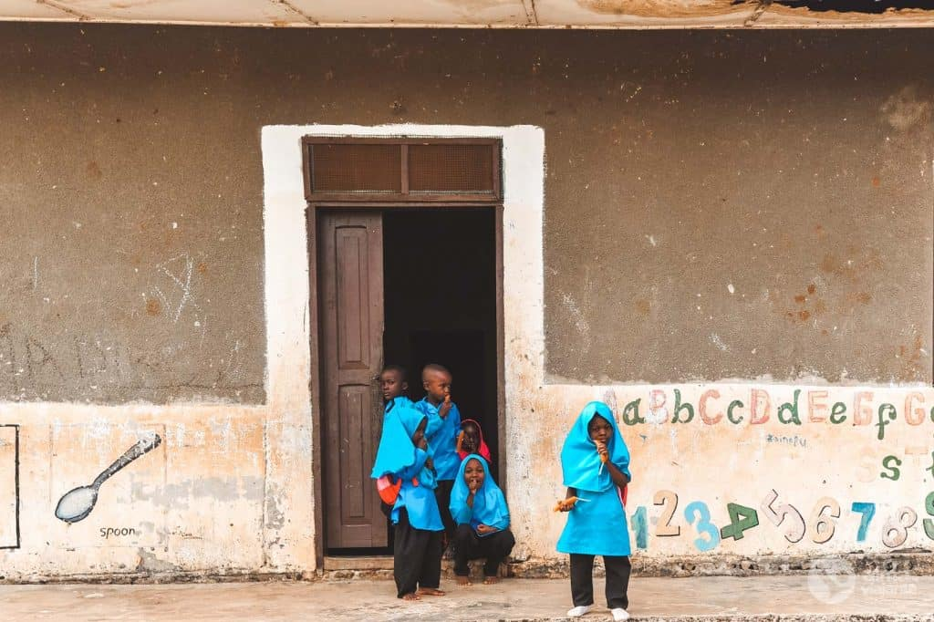 Crianças Zanzibar