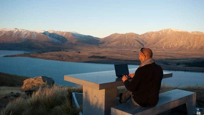 Trabalhar pela internet - Nova Zelândia
