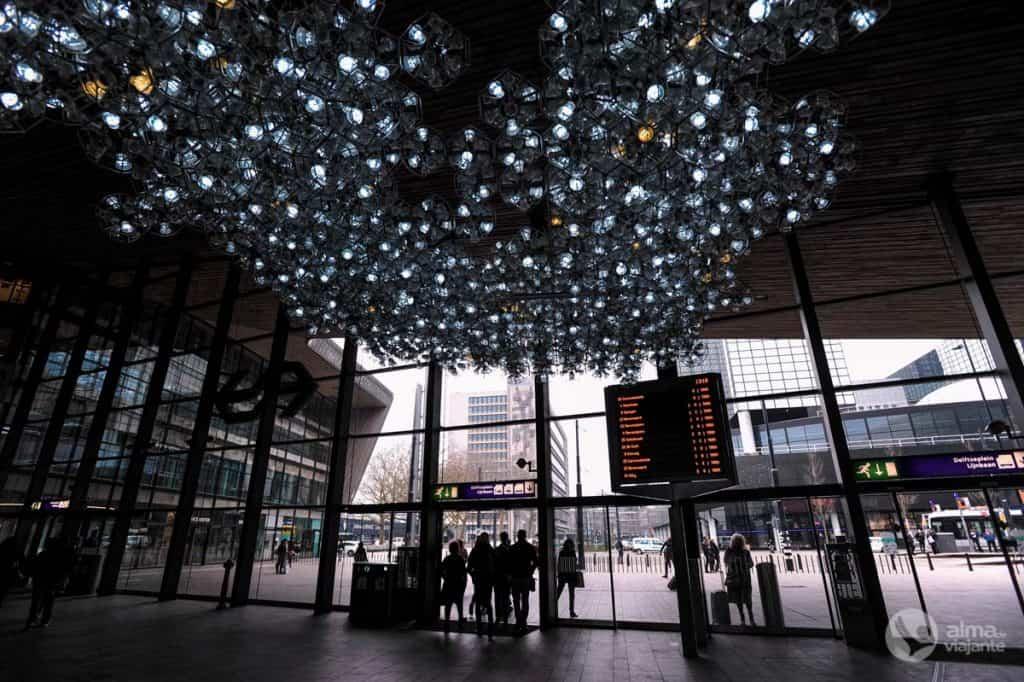 O que visitar em Roterdão: Estação Central