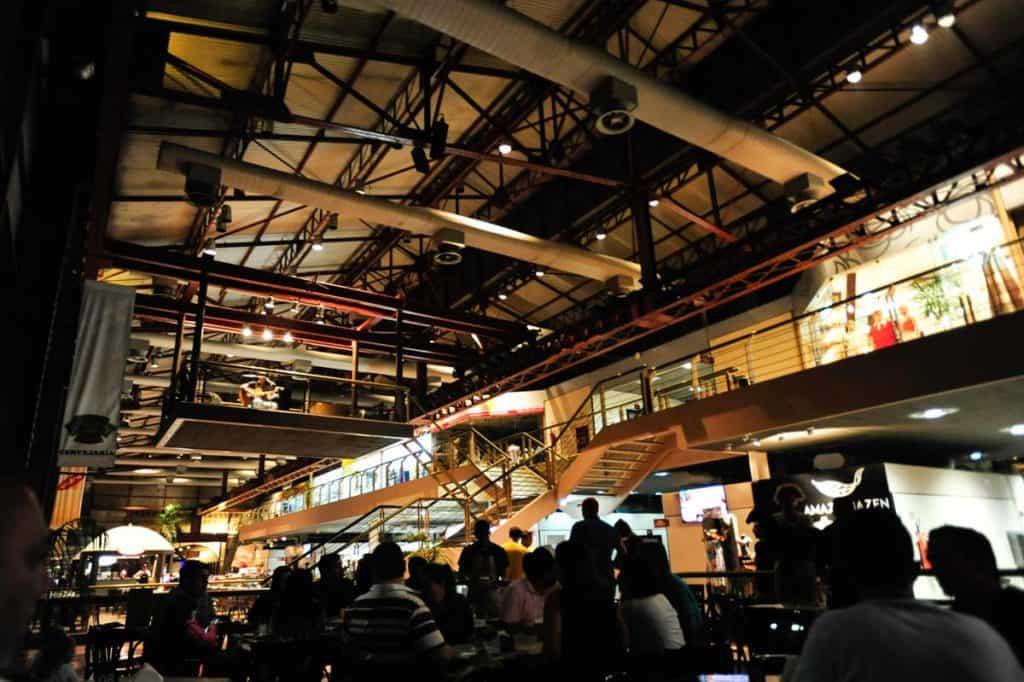 Bares e restaurantes na Estação das Docas, Belém