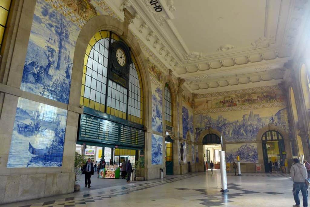 Hall de entrada da Estação de São Bento, Porto