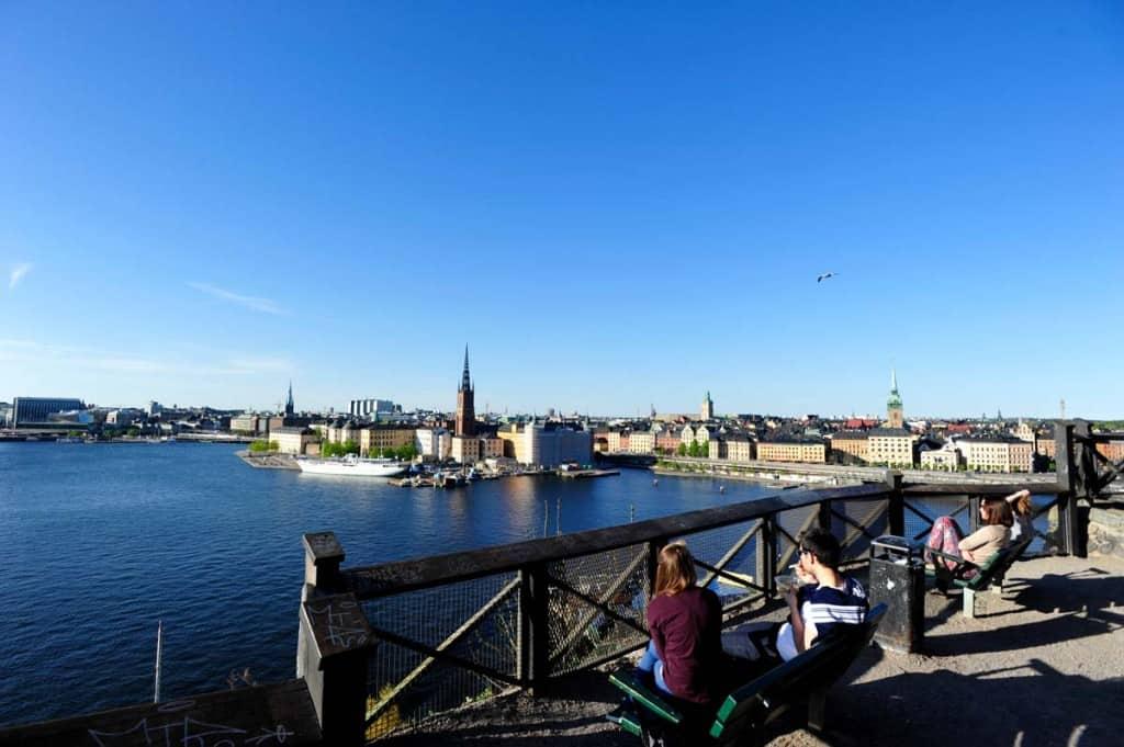 Estocolmo old town, Suécia